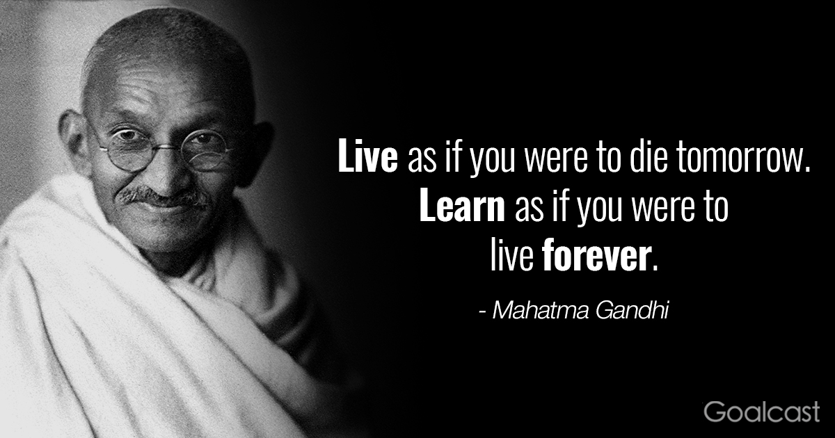 Inspiring Gandhi Quotes Live Learn