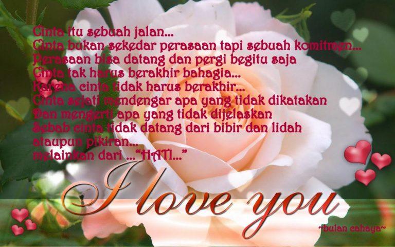 Kata Mutiara Cinta Bahasa Inggris Dan Indonesia | Kata ...