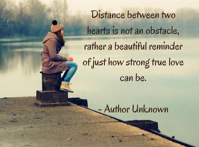 Long Distance Relationship Quotes About Distance