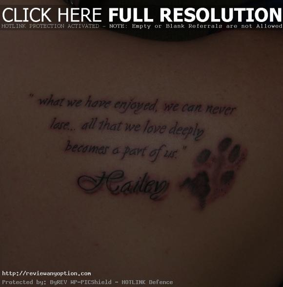 Losing A Loved One To Cancer Quotes Custom  Coolest Memorial Tattoos