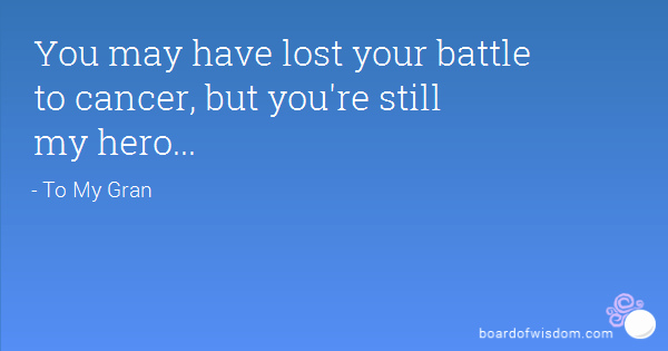 Losing Someone To Cancer Quotes The Best Death Quotes