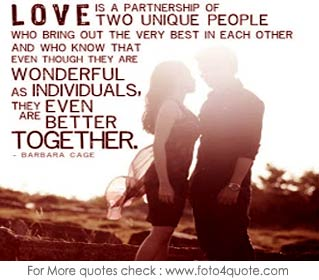Love Quotes For Couples And Images Hugging Couple Love Is A Partnership P O