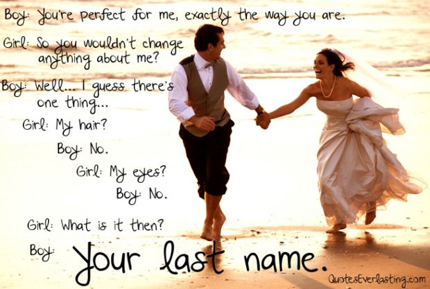 I Want To Change Your Last Name