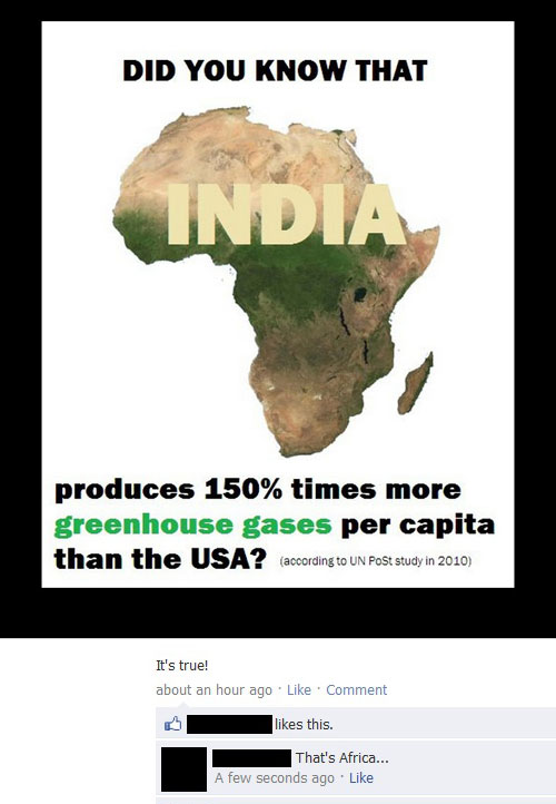 Funny Lying On Facebook Africa India