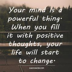 Mind Powerful Inspirational Quotes Cancer Never Cross Fresh Ocean Positive Change Thoughts Courage Contemporary Sight