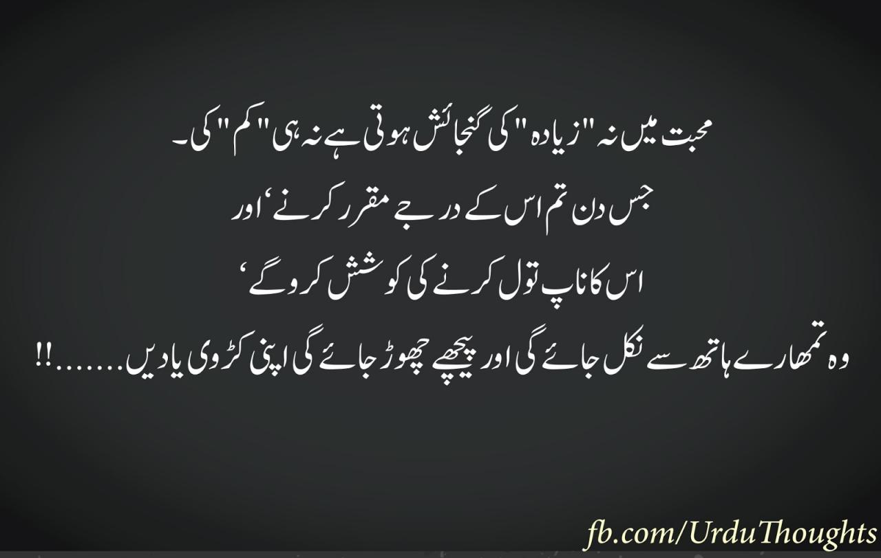 Iqtabas From Urdu Novels Khoobsurat Iqtibas Urdu Thoughts C B Life Quotes About Love