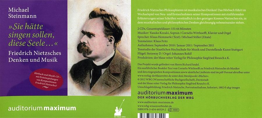 Ist Cornelis Witthoefft Zustandig Der Auch Das Zugehorige Und Im Internet Herunterladbare Booklet Verfasst Hat Der Musiker Friedrich Nietzsche