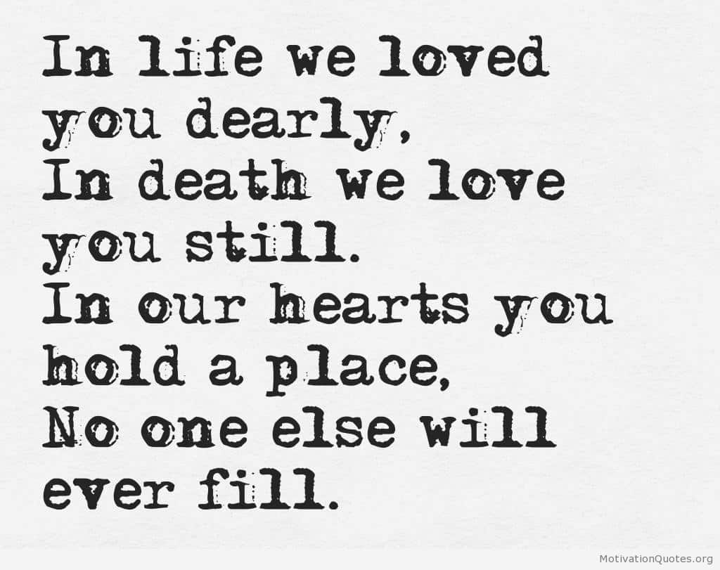 Quotes About Death Life