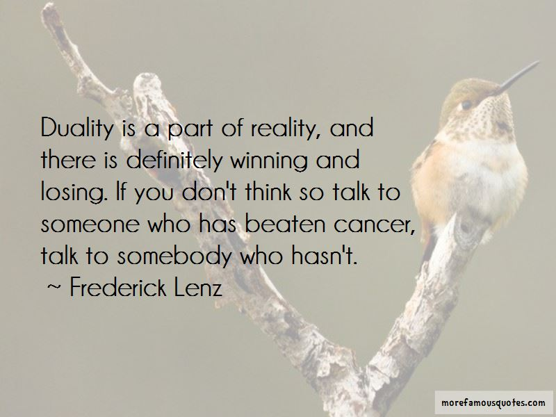 Quotes About Losing Someone To Cancer