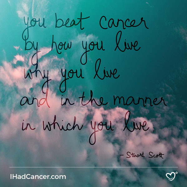 Comfortable Quotes For Cancer Patients Images
