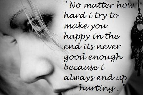 Love Quotes For Crying Hover Me