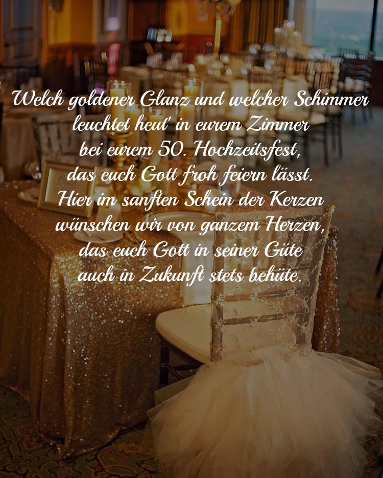 Spruche Goldenen Hochzeit Feierlich Gedicht Eltern Christlich  Wunsche Und Spruche Zur Goldenen Hochzeit Der Eltern Kostenlos