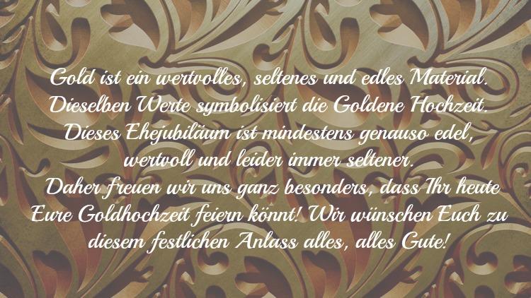 Spruche Goldenen Hochzeit Gluckwunsche Poetisch Verse  Wunsche Und Spruche Zur Goldenen Hochzeit Der Eltern Kostenlos Spruche Und Zitate