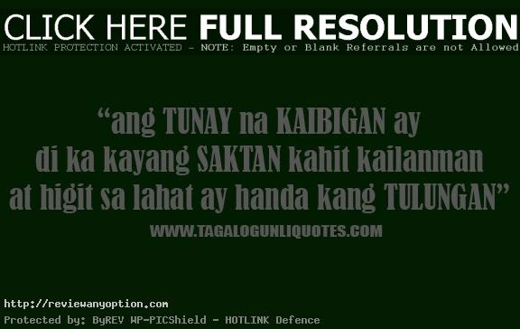 Love Quotes Best Friend Tagalog Hover Me