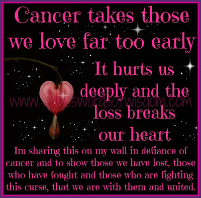 Take Early Quotes About Losing A Loved One To Cancer Heart Shape Cover It Hurts Simple
