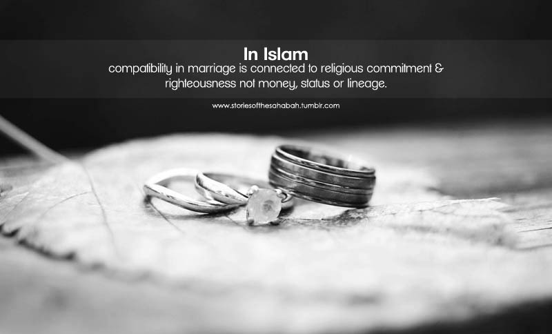 Marriage In Islam An Advice To All Easy To Say And Read But Hard