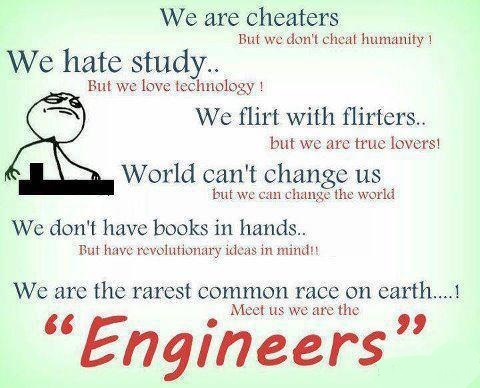 We Are Engineers Funny Quotes