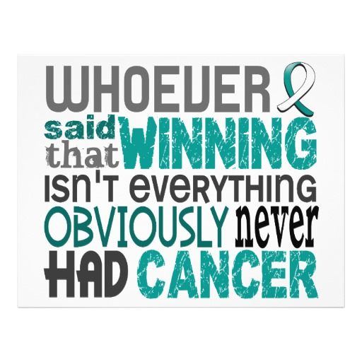 Losing The Battle With Cancer Quotes