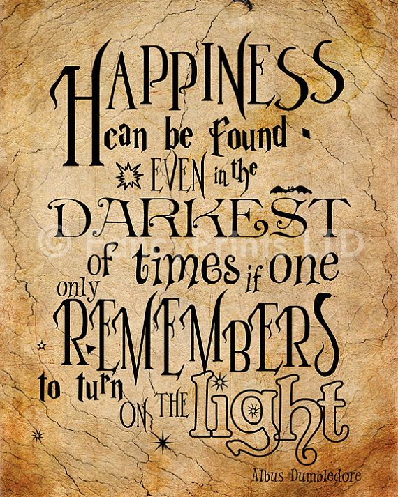 Harry Potter Zitate Albus Dumbledore Zitiert Von Fancyprintsforhome