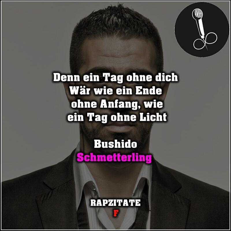 Jeden Tag Ein Zitat  E C  Bushido Deutschrap Rapzitate Hiphop Rap