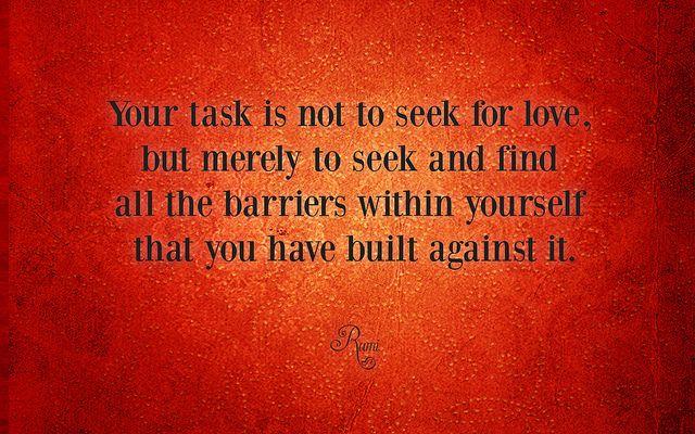 Erkunde Rumi Zitate Herz Zitate Und Noch Mehr