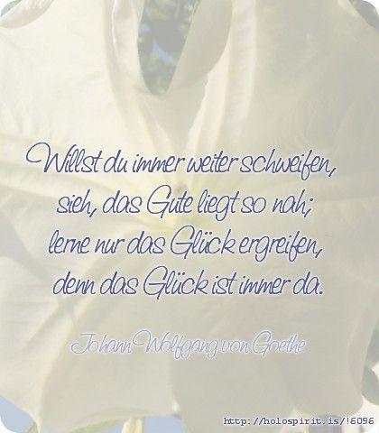 Das Gute Ist Nah Goethe Zitateschweifengluck