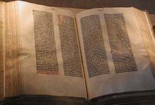 Gutenberg Bibel Kongressbibliothek Washington D C