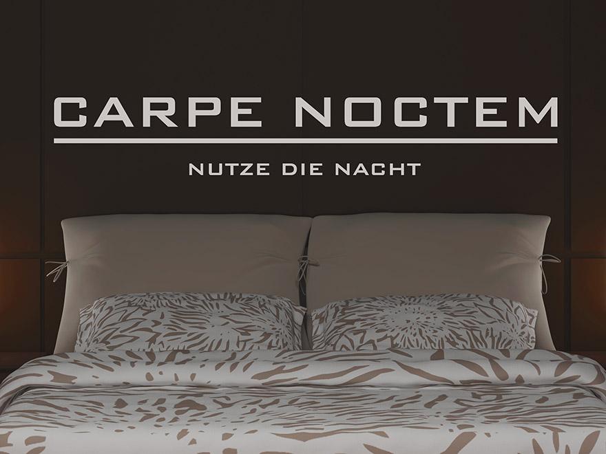 Wandtattoo Spruch Auf Latein Im Schlafzimmer