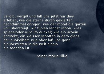 Bildergebnis Fur Rainer Maria Rilke Zitate