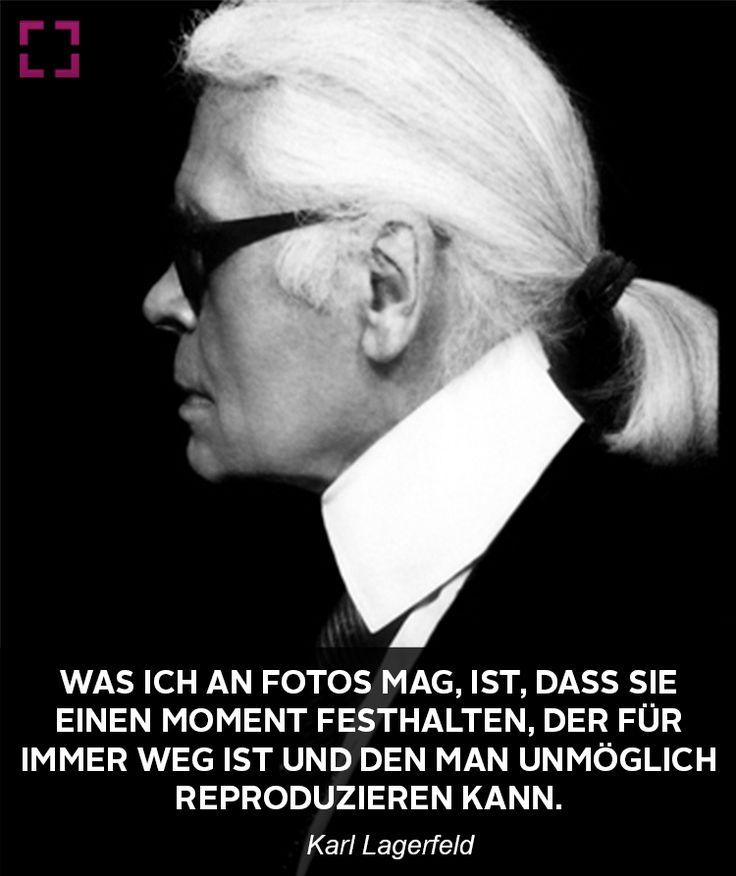 Karl Lagerfeld Zitat Uber Fotografie
