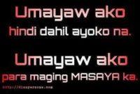 Tagalog Sad Love Quotes Pacute Com Ayaw Na