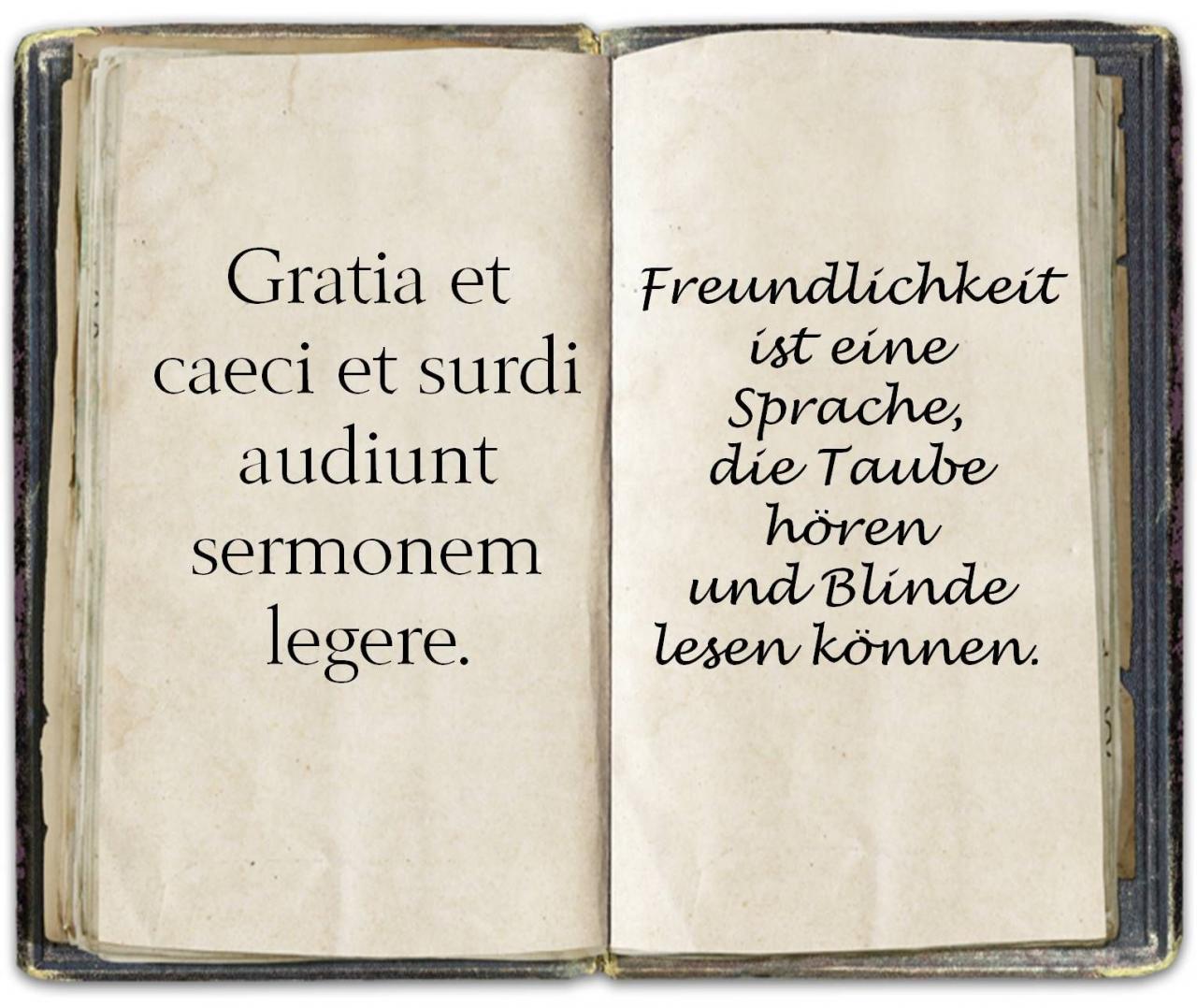 Zitate  C B Liebe  C B Spruch Latein