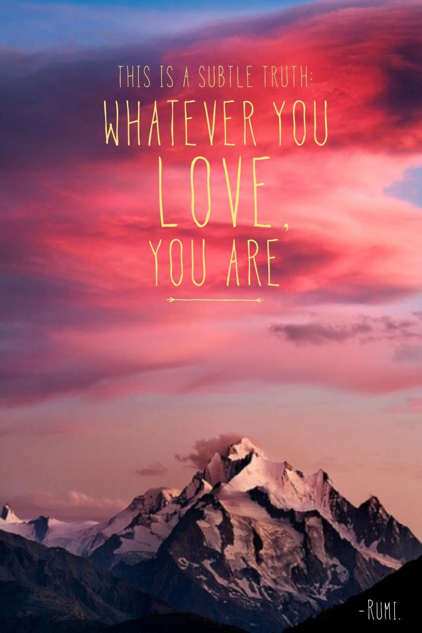 Sonnenuntergang Liebe Zitate  C B Rumi