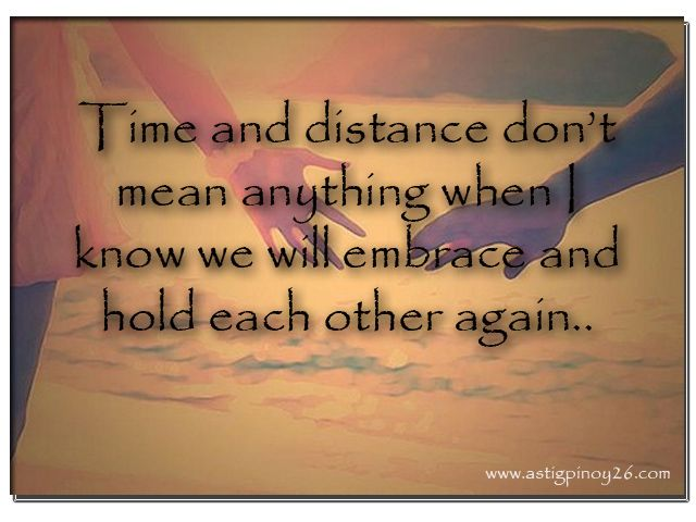 Sad Long Distance Relationship Quotes Tagalog