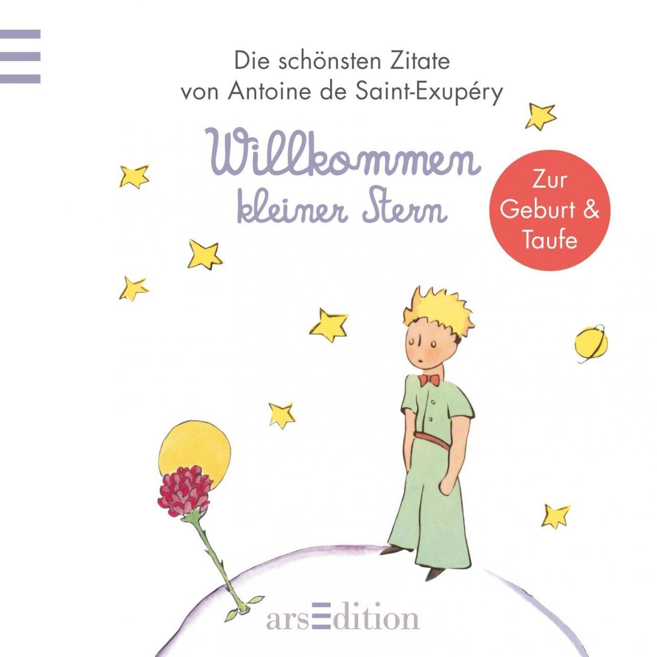 Willkommen Kleiner Stern Kleiner Prinz Minibucher Amazon De Antoine De Saint Exupery Bucher