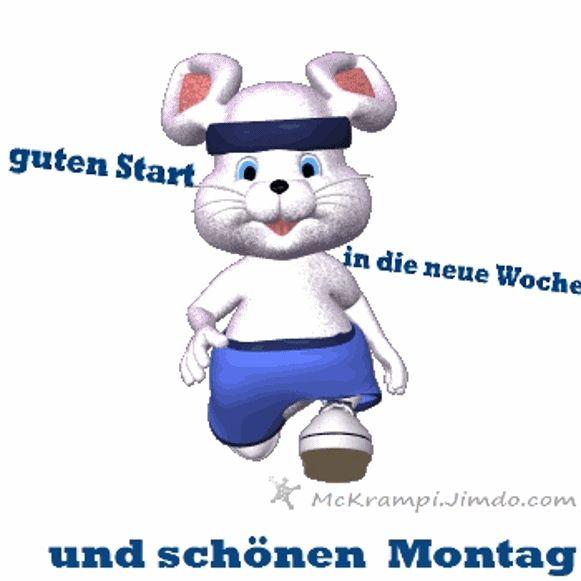 Guten Morgen Guten Wochenstart Lyrische Zitate Morgenstund Schone Woche Wochentage Kaninchen Bildung Lustige Bilder