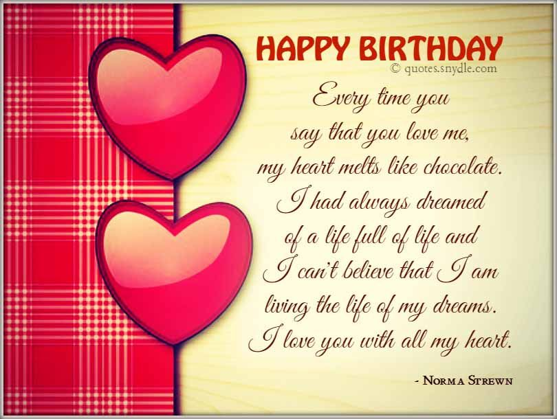 Boyfriend Happy Birthday Quotes
