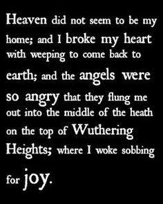 Wuthering Heights Quotes Literary Inspiration Pinterest