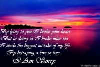 Beautiful Quote To Say Sorry To Girlfriend
