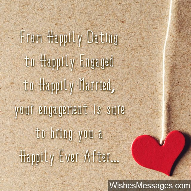 Happily Ever After Cute En Ement Wishes