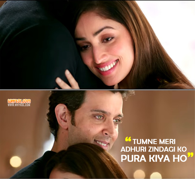 Love Dialogues From Kaabil Hindi Movie Dialogues