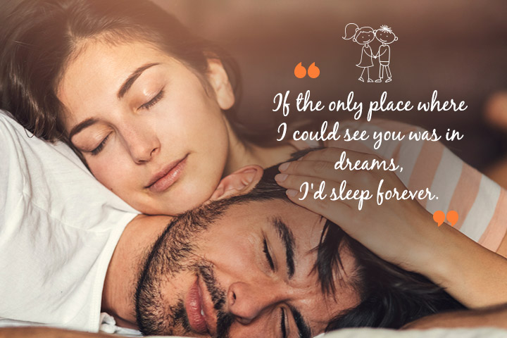 Love Quotes For Long Distance Relationship If The Only Place I Could See You Was
