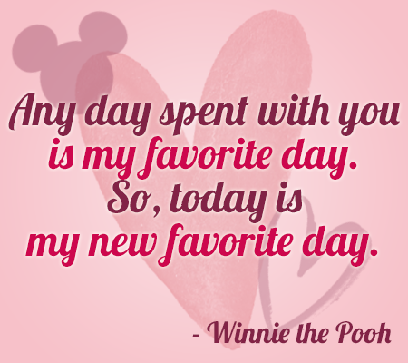 Disney Movie Quotes About Love My New Favorite Day
