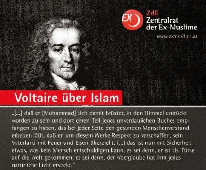 Ohne Zensur Voltaire Und Islam