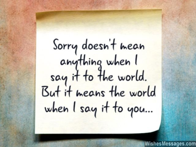 Love Quotes To Say Sorry Your Boyfriend  Joyfulvoices Info
