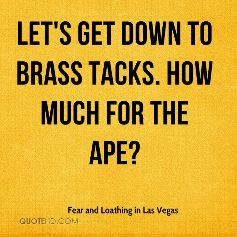 Fear Loathing In Las Vegas Quotes Images