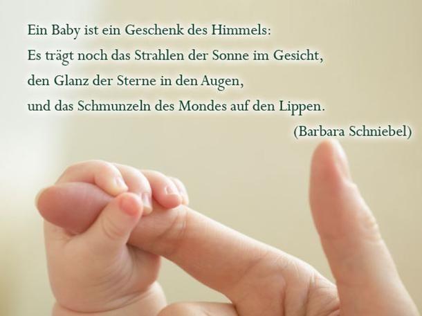 Spruche Zur Geburt Ein Geschenk Des Himmels