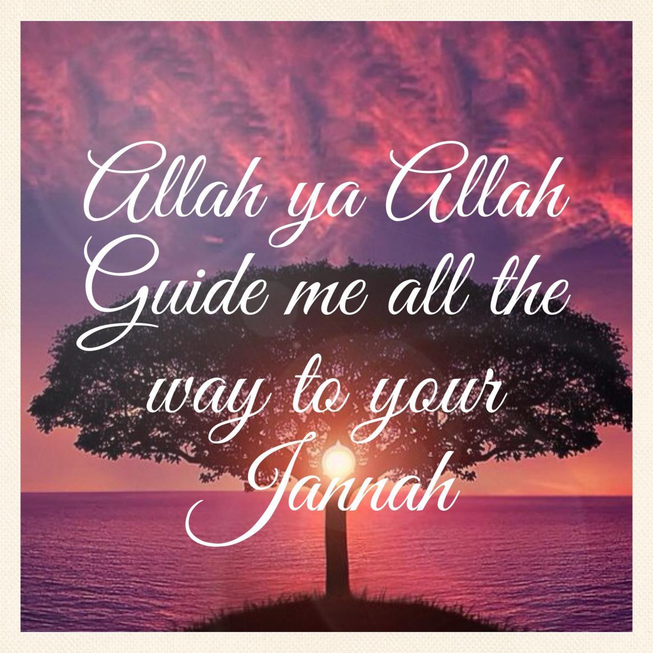 Islam Jannah Akhira Pinterest
