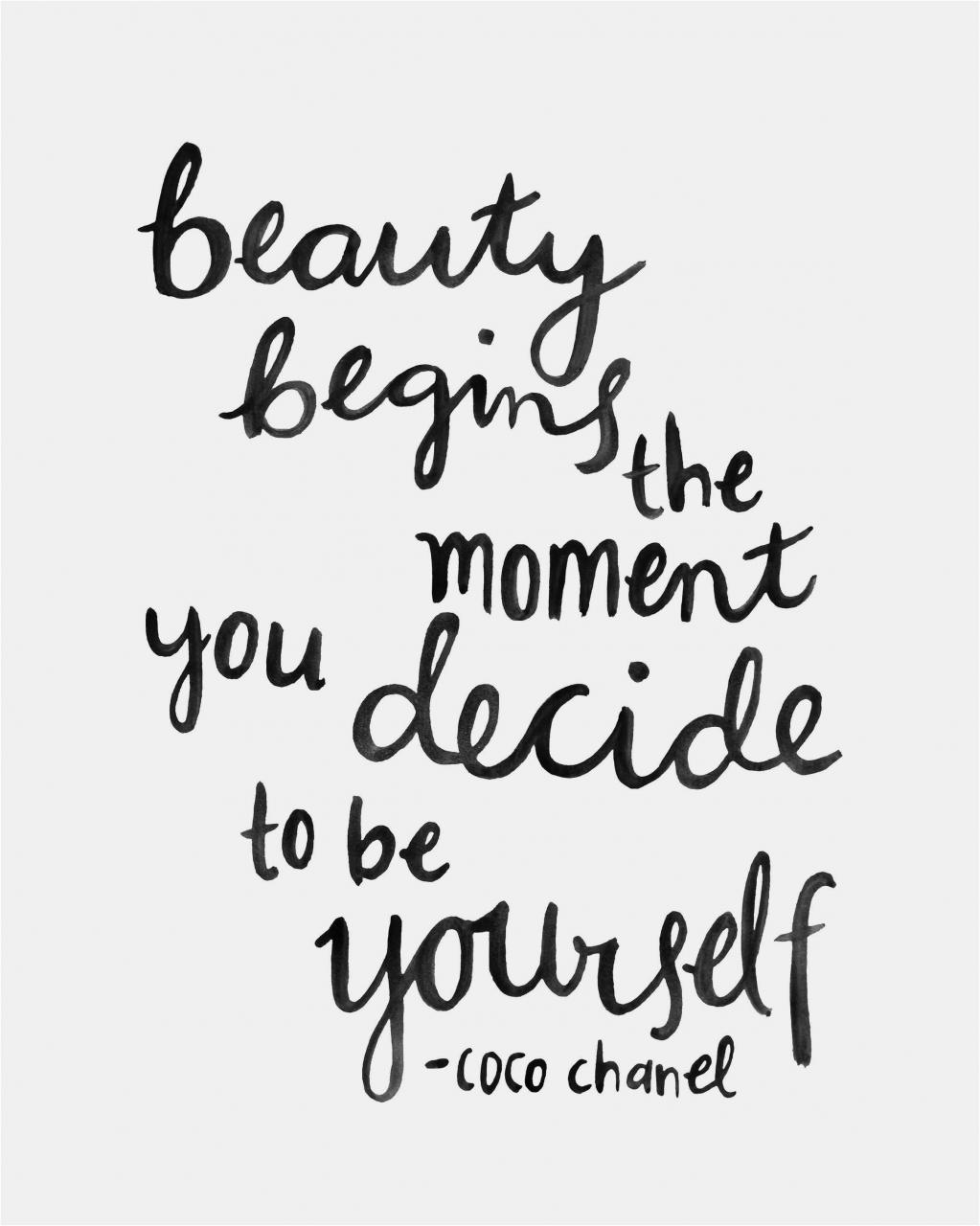 Coco Chanel Zitate Englisch