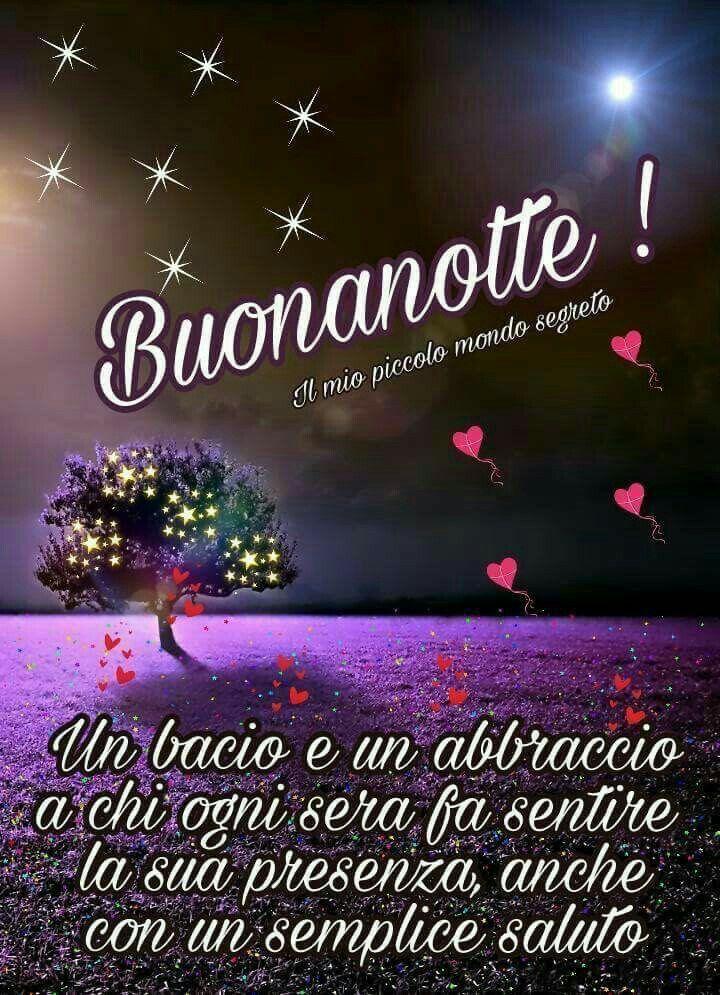 Blumen Gute Nacht Nachtzitate Gold Italienische Zitate Karten